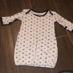Baby boy gown